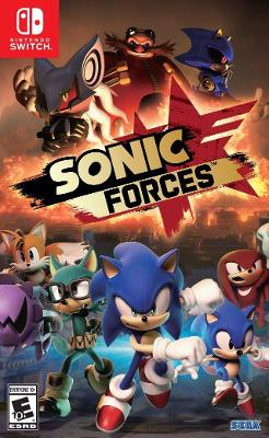 Sonic Forces Cover Art