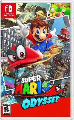 box cover art for Super Mario Odyssey