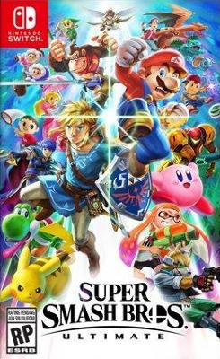 Super Smash Bros. Ultimate Cover Art