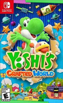 Yoshi's Crafted World Cover Art