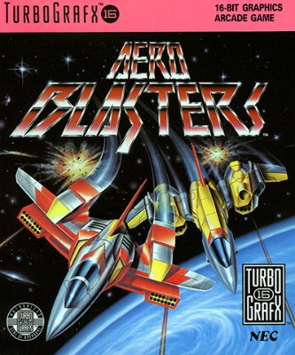 Aero Blasters Cover Art