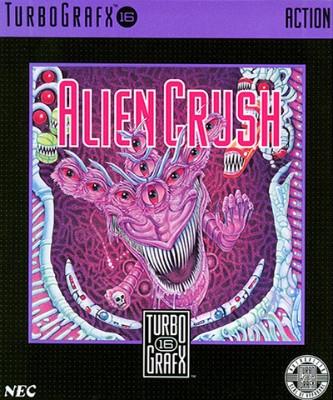 Alien Crush Cover Art