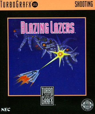 Blazing Lazers Cover Art