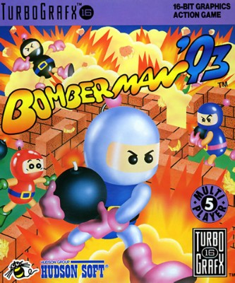 Bomberman 93 Cover Art