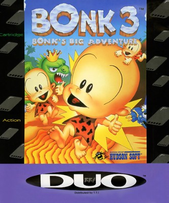 Bonk 3: Bonk's Big Adventure Cover Art