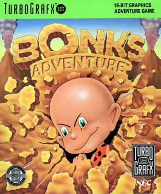 Bonk's Adventure Cover Art