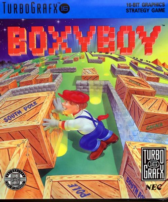 Boxyboy Cover Art