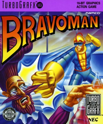 Bravoman Cover Art