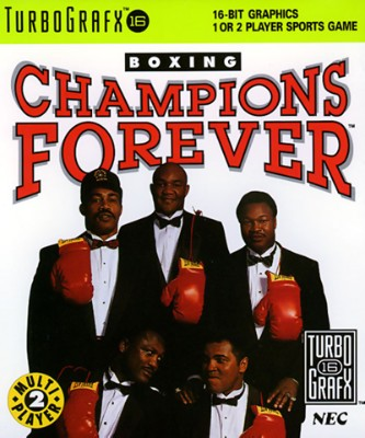 Champions Forever Boxing Cover Art