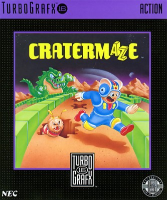 Cratermaze Cover Art