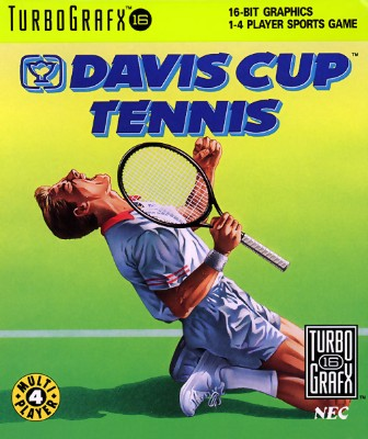Davis Cup Tennis Cover Art