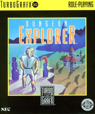 Dungeon Explorer Cover Art