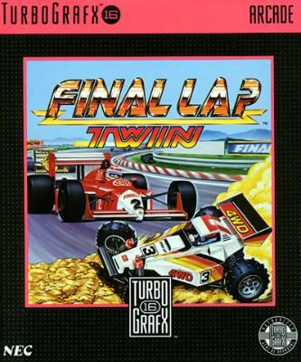 Final Lap Twin Cover Art