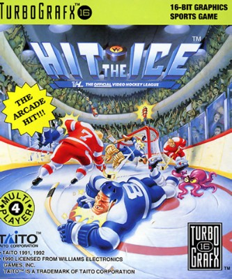 Hit the Ice Cover Art