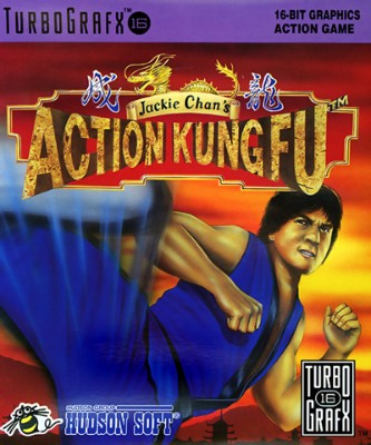 Jackie Chan's Action Kung Fu Cover Art