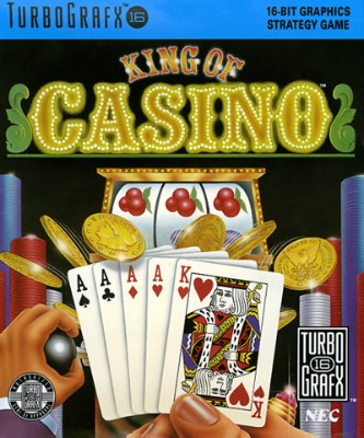 King Of Casino Cover Art