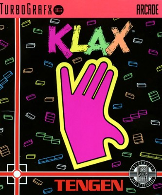 Klax Cover Art