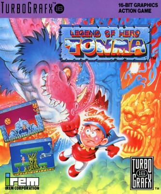 Legend of Hero Tonma Cover Art