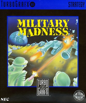 Military Madness Cover Art
