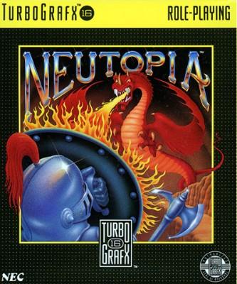 Neutopia Cover Art