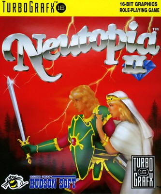 Neutopia II Cover Art