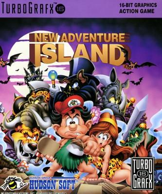 New Adventure Island Cover Art