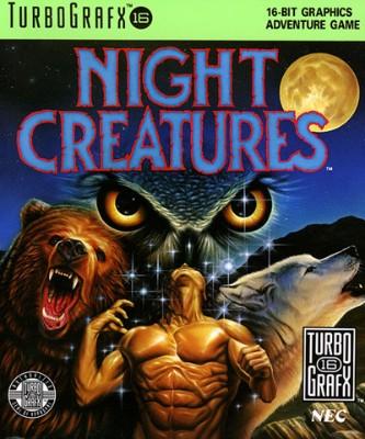 Night Creatures Cover Art