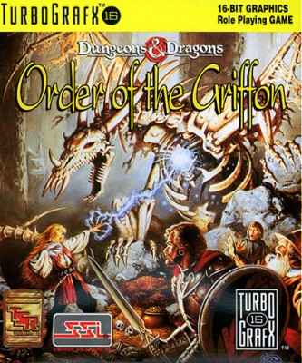 Order of the Griffon Cover Art
