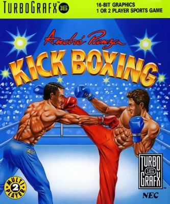 Andre Panza Kick Boxing Cover Art