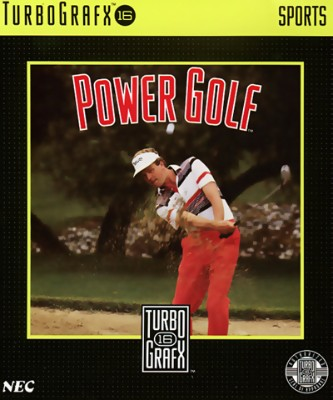 Power Golf Cover Art