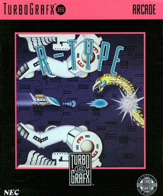R-Type Cover Art