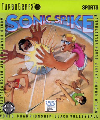 Sonic Spike Volleyball Cover Art
