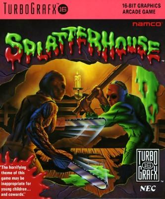 Splatterhouse Cover Art