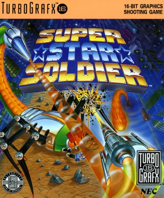 Super Star Soldier Cover Art