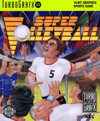 Super Volleyball Cover Art