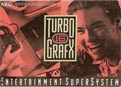 TurboGrafx 16 Cover Art