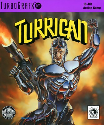 Turrican Cover Art