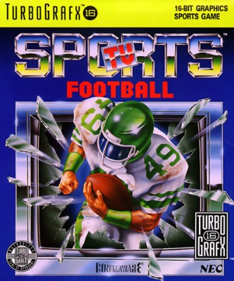 TV Sports Football Cover Art