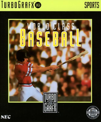 World Class Baseball Cover Art