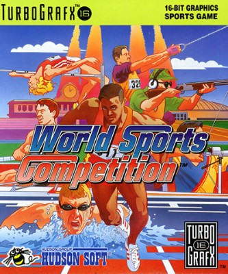 World Sports Competition Cover Art