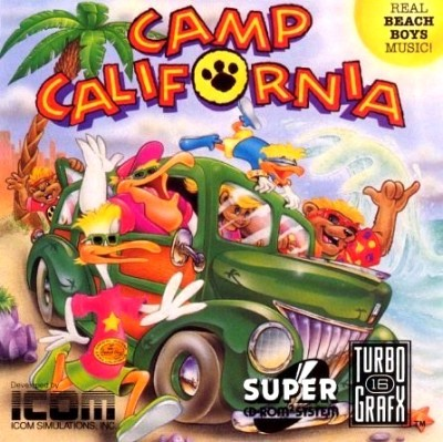 Camp California Cover Art