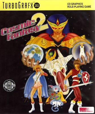 Cosmic Fantasy 2 Cover Art