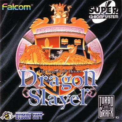 Dragon Slayer: The Legend of Heroes Cover Art