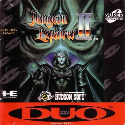 Dungeon Explorer II Cover Art