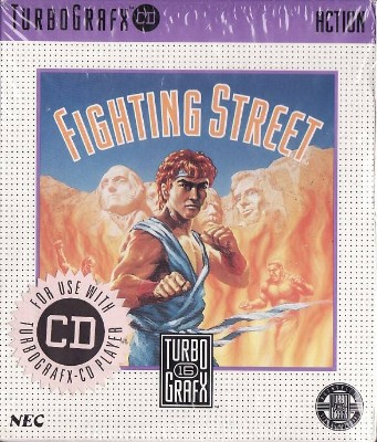Fighting Street Cover Art