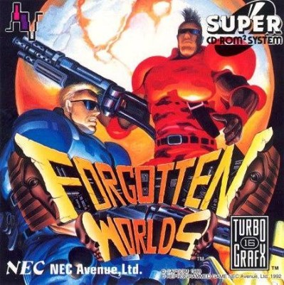 Forgotten Worlds Cover Art