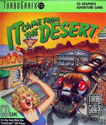 It Came From The Desert Cover Art