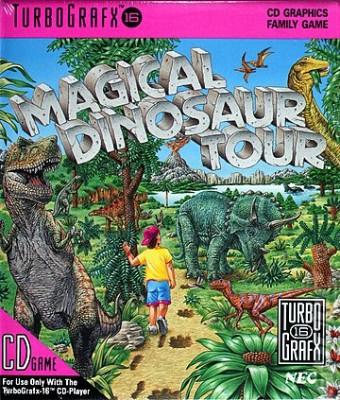 Magical Dinosaur Tour Cover Art
