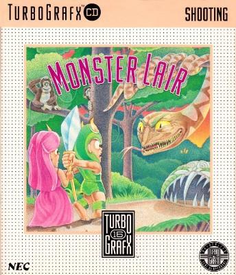 Monster Lair Cover Art