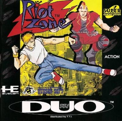 Riot Zone Cover Art